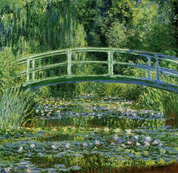 Monet - Water-Lily Pond, 1899