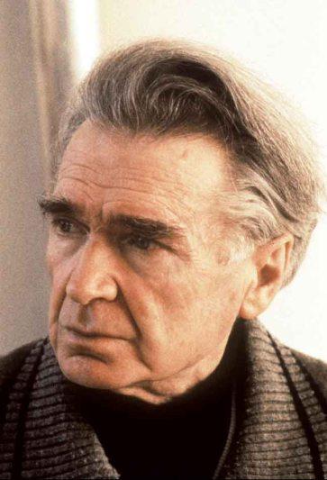 Photo datée de 1995 de l'écrivain et philosophe d'origine roumaine Emile Cioran, décédé le 20 juin 1995 à l'âge de 84 ans. Picture taken in 1995 of writer and philosopher of Rumanian origin Emile Cioran died 20 June1995 in Paris aged 84.